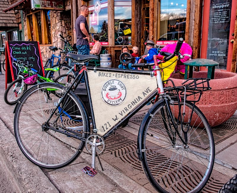 Doubleshot Cyclery in the Gunnison Valley