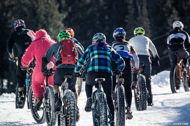 Fat Bike Group in Crested Butte