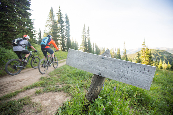 Riders on Trail 403