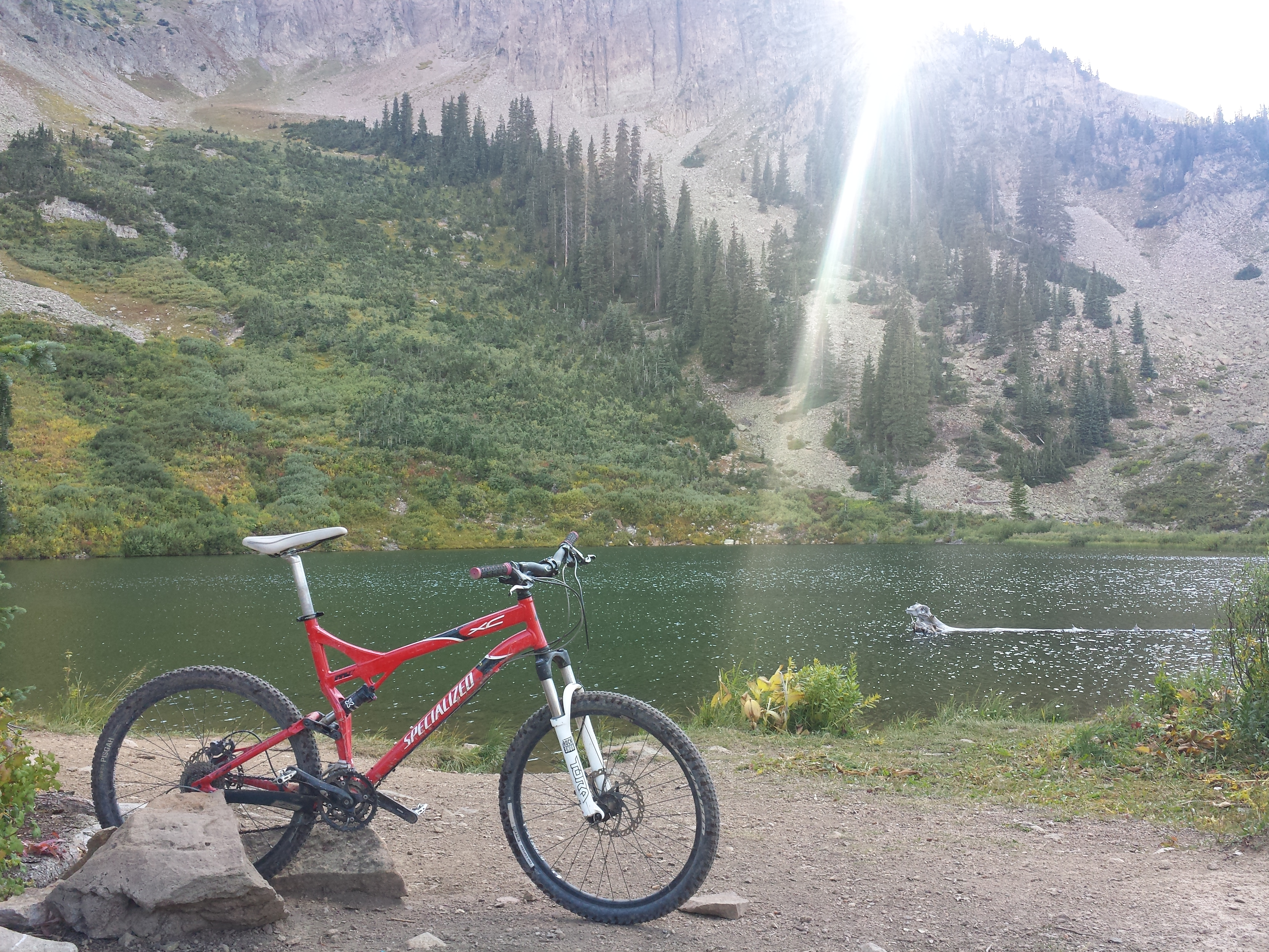 green lake trail crested butte