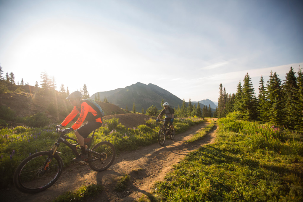 biking 403 trail crested butte colorado
