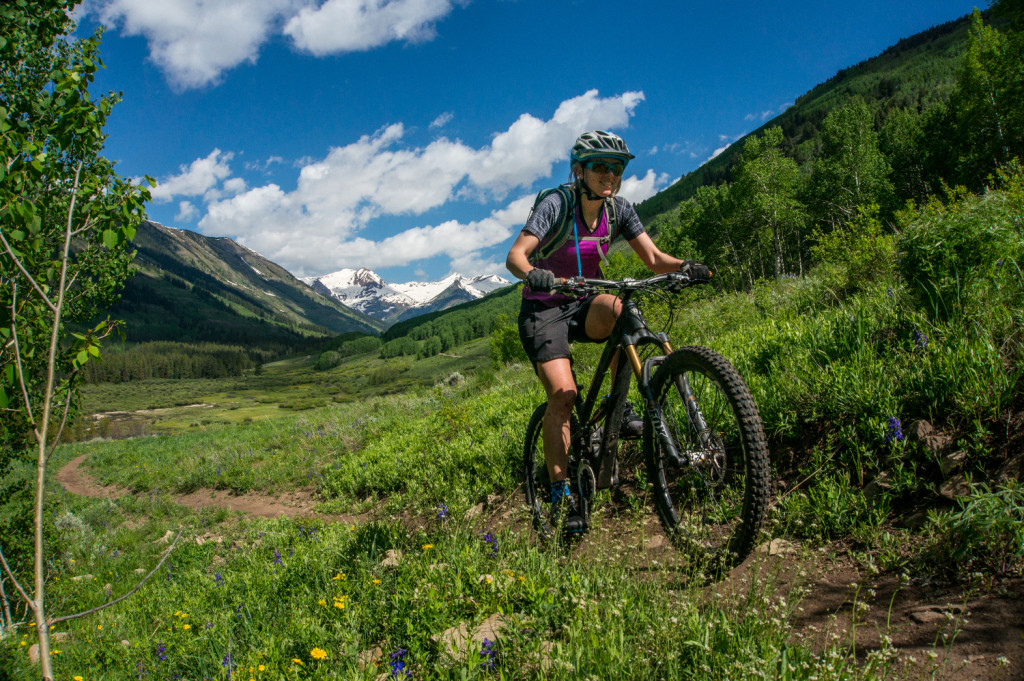 mountain biking lupine trail crested butte