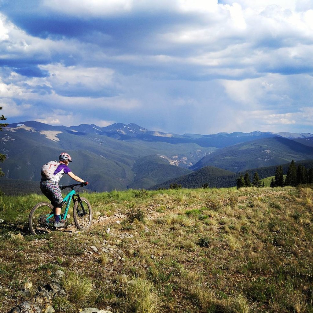 @crested_butte_is_home on matchless trail