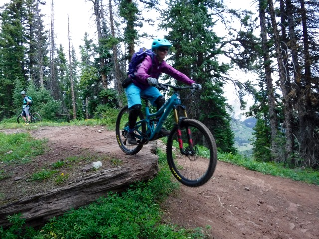 guided mountain bike trips colorado backcountry crested butte