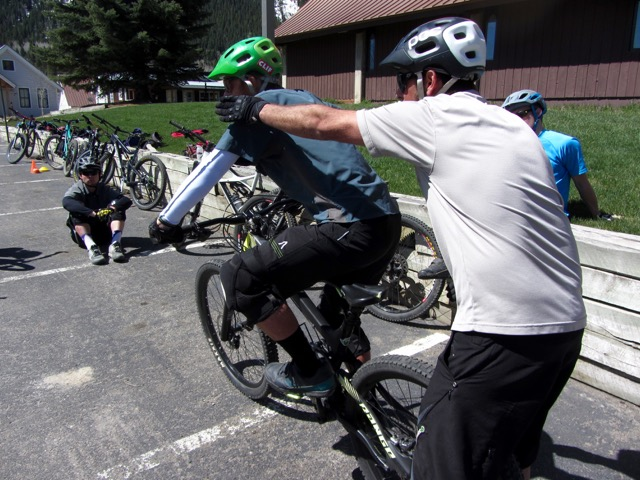 skills clinic crested butte mountain biking