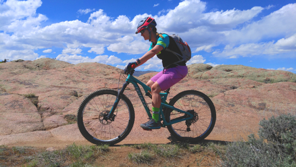 riding at hartman rocks gunnison colorado