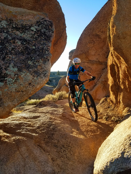 ring dyke hartman rocks mountain biking gunnison colorado