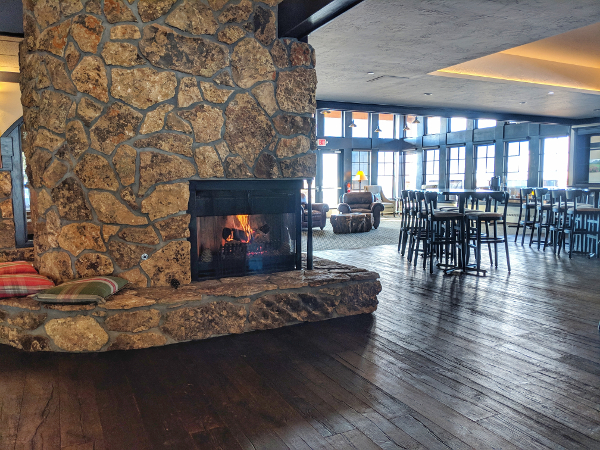 inside of the club at crested butte