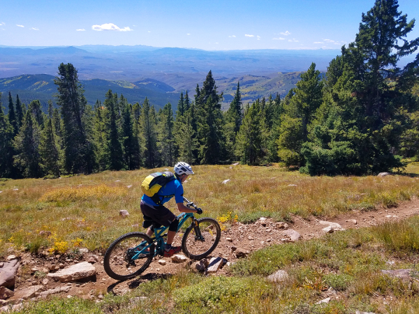 west fossil ridge loop mountain biking gunnison colorado
